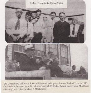 Tor Bay Acadien Society -- Père Charles Forêt