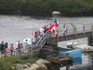 Tor Bay Acadien Society - August 2008 258 Acadien Parade bridge