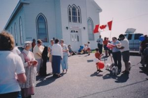 Tor Bay Acadien Society - Preperations for Parade of Families
