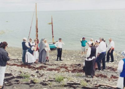 Tor Bay Acadien Society - reenactment of the 1797 arrival of Acadian families from Chezzetcook by land and sea.