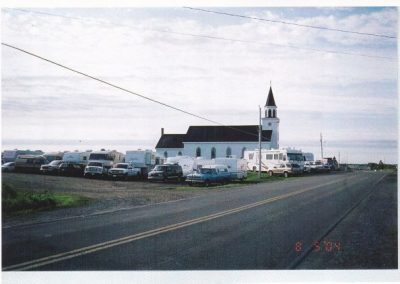 Tor Bay Acadien Society - Visiting Caravan of RVs for Pellerin/Bonnevie Reunion