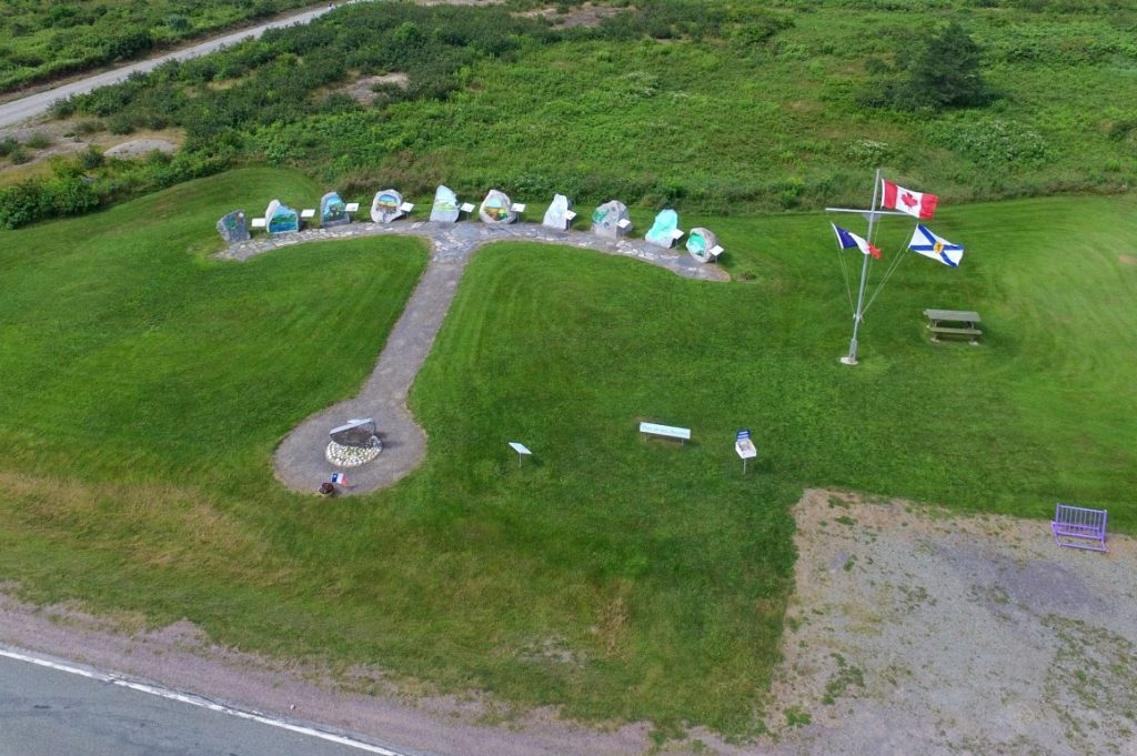 Tor Bay Acadien Society - A Clear View of the Park Anchor Configuration
