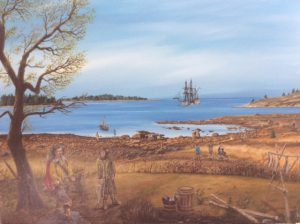 Tor Bay Acadien Society - Samuel de Champlain and Cpt. Savalette