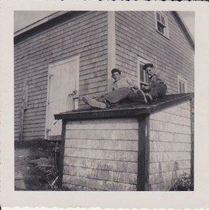 Tor Bay Acadien Society - Earl Popeye Avery and Gilbert Delorey 1958