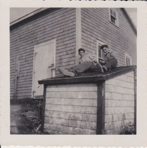 Tor Bay Acadien Society - Earl Popeye Avery and Gilbert Delorey 1958