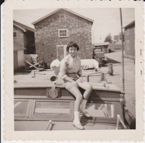 Tor Bay Acadien Society - Harold Pellerin's Daughter Kathy Pellerin
