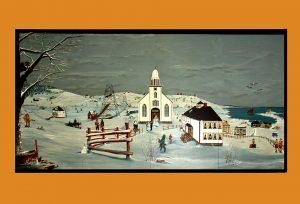 Tor Bay Acadien Society - Peinture historique/ Mural Painting