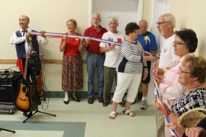 Société des Acadiens - Société des Acadiens Committee cut the ribbon at the Salle Acadienne Opening Ceremony (2013)