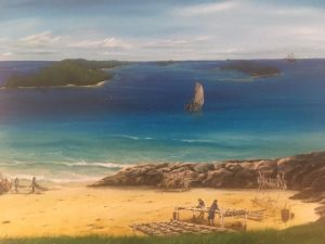 Tor Bay Acadien Society - Moni Deursch Painting