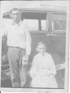 Tor Bay Acadien Society - Albert and Mother (Harriette)