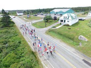 Tor Bay Acadien Society - 2016 Festival Savalette: Tintamarre marchers
