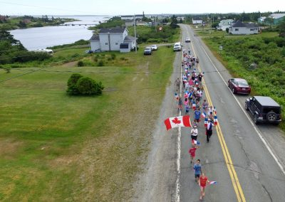 Tor Bay Acadien Society - 2016 Festival Savalette: Tintamarre marchers