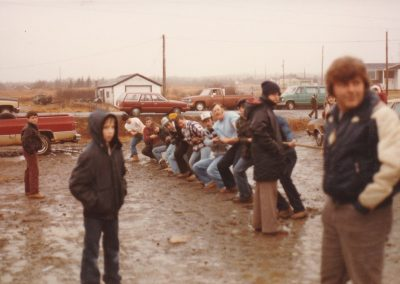 Tor Bay Acadien Society - Tug of War-Tor Bay vs Larry's River