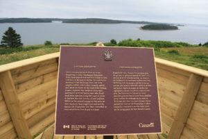 Parks Canada Plaque/Plaque d'Exposition Historique-Parc Canada