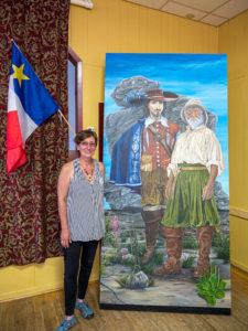 Monika Deursch Painting/Peinture de Monika Deursch
